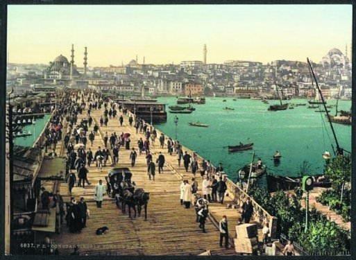 İstanbul'un ilk renkli fotoğrafları