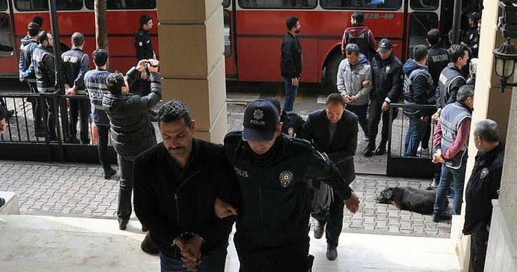 55 şüpheli FETÖ'den gözaltında