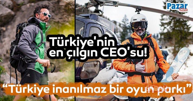 Türkiye'nin en çılgın CEO'su!
