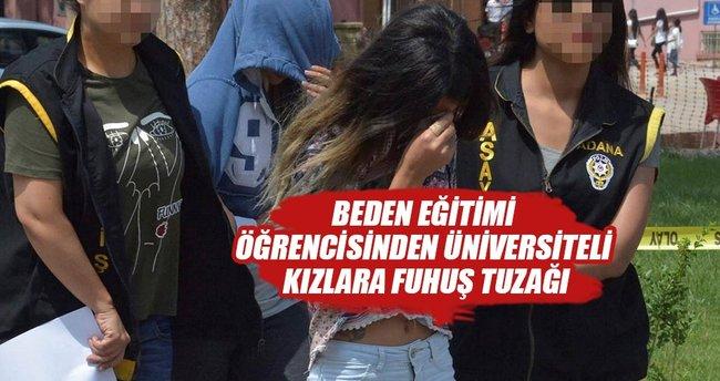 'Üniversiteli kızlara fuhuş tuzağı' davasında sanıklara tahliye