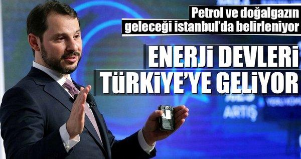 Enerji devleri Türkiye'ye geliyor