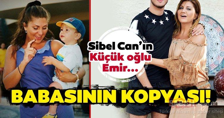 Sibel Can'ın küçük oğlu Emir Aksüt değişimi ile şaşırttı! Sibel Can'ın oğlu Emir Aksüt babasının kopyası!