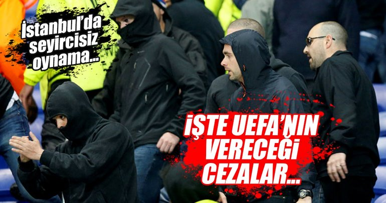 UEFA'nın Lyon ve Beşiktaş'a vereceği ceza...