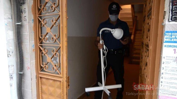 Sultangazi'de 3'üncü katta şok; daireyi doğumhaneye çevirmişler