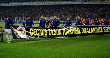 Fenerbahçe - Başakşehir maçında Elazığ ve Malatya unutulmadı