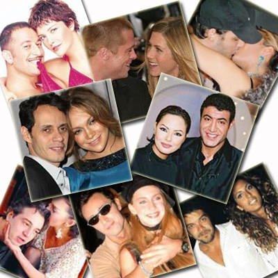 Ünlülerin karmaşık aşk ilişkileri