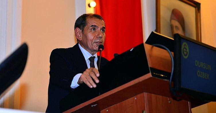 Dursun Özbek'ten divan kurulunda Riva ve Florya eleştirisi