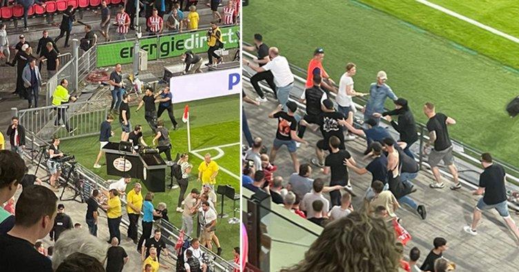 Son dakika: Galatasaray'a Hollanda'da çirkin saldırı! İlk yarı sonunda...