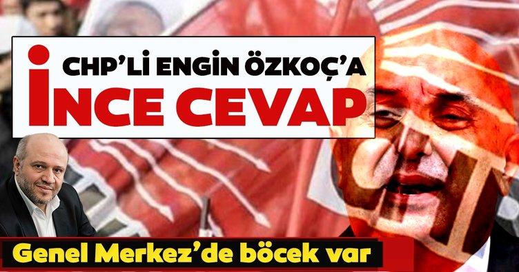 Salih Tuna'dan CHP'li Engin Özkoç'a ince cevap