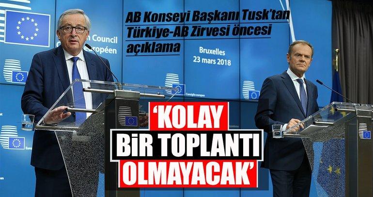AB Liderler Zirvesi'nde Türkiye konuşuldu