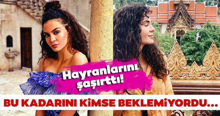 Hercai'nin Reyyan'ı Ebru Şahin doğal güzelliğiyle büyülüyor!