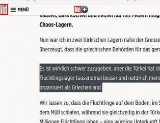 Alman Bild istediğini bulamadı! Türkiye'deki mülteci kamplarını gören Yunan gazeteci: Ülkemden utanıyorum