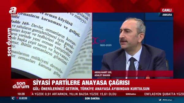 Adalet Bakanı Gül'den son dakika yeni anayasa açıklaması | Video