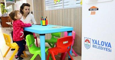 Yalova Belediyesi'nden çocuklar için oyun alanı