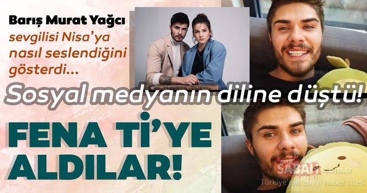 Survivor Barış Murat Yağcı'nın sevgilisi Nisa Bölükbaşı'na seslenişi alay konusu oldu! Barış Murat Yağcı sosyal medyanın dilinde...