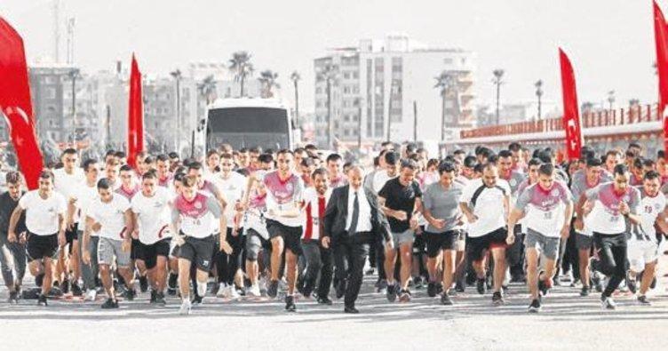 Öğrenciler Ata'ları için kupaya koştu