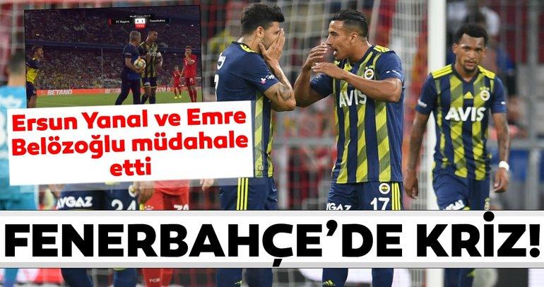 Fenerbahçe - Bayern Münih maçında krizler peş peşe! Nabil Dirar ve...