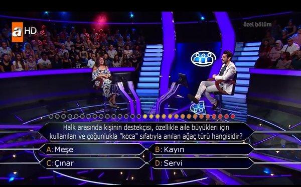 Kim Milyoner Olmak İster yeni bölüm soru ve cevapları