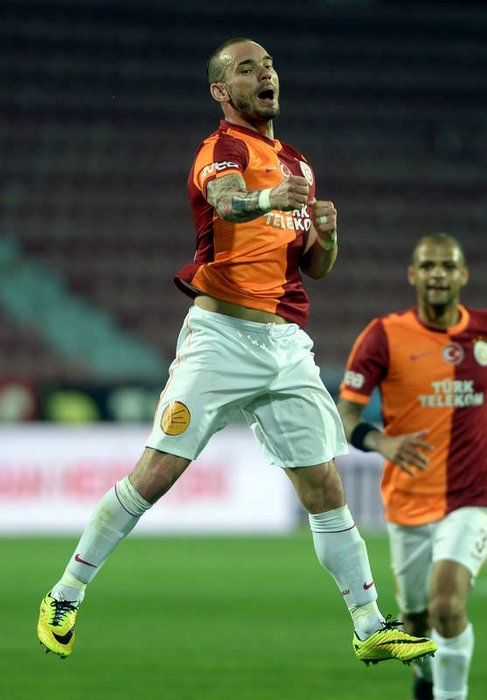 Trabzonspor - Galatasaray maçının fotoğrafları