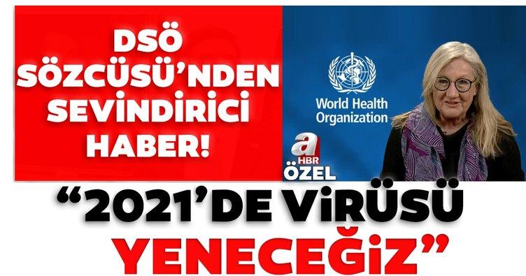 Son dakika: DSÖ Sözcüsü Margaret Harris: 2021'de koronavirüsü yeneceğiz!
