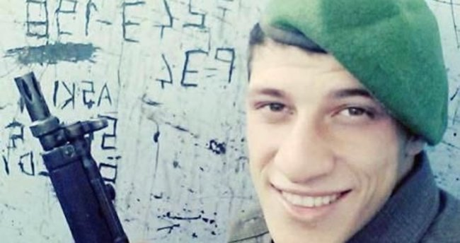 Nöbette vurulmuş bulunan asker öldü