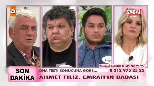 DNA testi sonucuna göre Ahmet Filiz, Emrah'ın babası!   Video