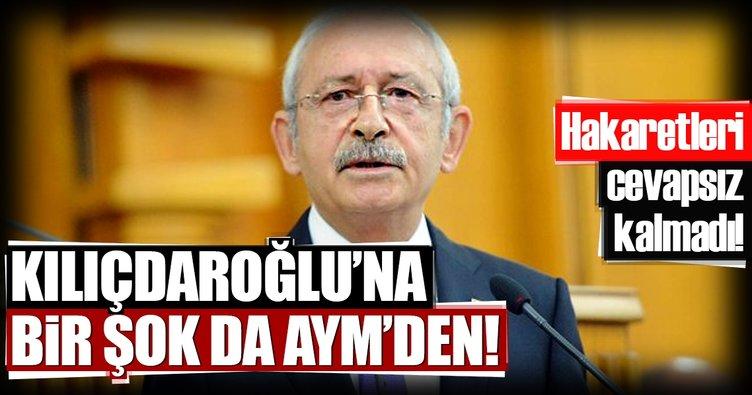 Kılıçdaroğlu'nun bireysel başvurusuna AYM'den ret