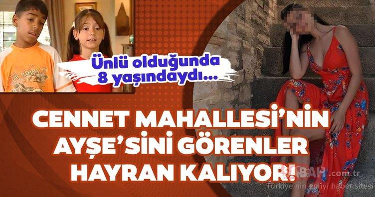 Cennet Mahallesi'nin Ayşe'si Belemir Temizsoy sosyal medyaya damga vurdu! Bu hali inanılmaz...