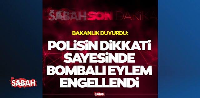 Son dakika: Gaziantep'te polisin dikkati sayesinde bombalı eylem engellendi