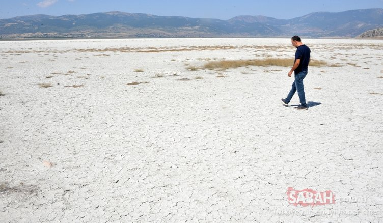 Türkiye'nin en uğrak yeriydi! Sular tamamen çekildi...
