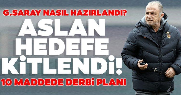 Galatasaray Vodafone Park'ta ilk peşinde! 10 maddede derbi planı | Muhtemel 11
