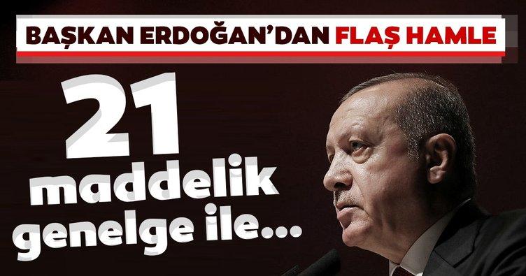 Erdoğan'dan Bilgi ve İletişim Güvenliği Tedbirleri genelgesi
