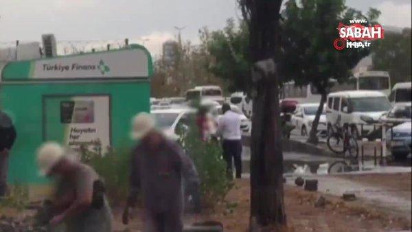 İstanbul'da inşaatçı kılığına giren polis kendisini ABD subayı olarak tanıtan Nijeryalı dolandırıcıyı böyle yakaladı | Video