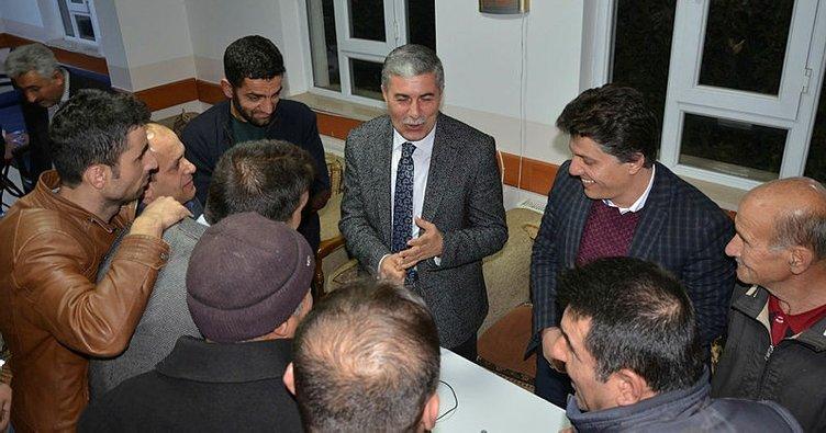 Başkan Aksoy, mahalle sakinleriyle bir araya geldi