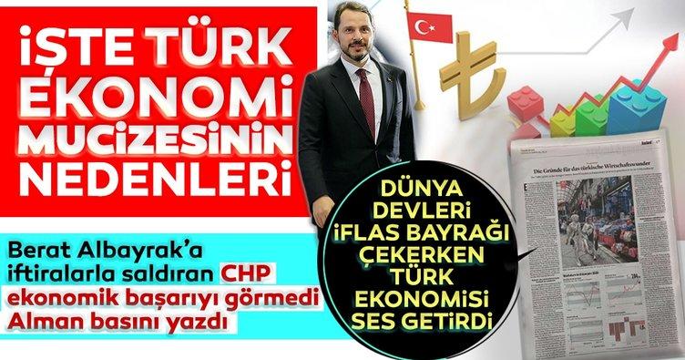 Alman basınında Türkiye övgüsü! Türkiye'nin küresel çaptaki ekonomik başarısı ses getirdi