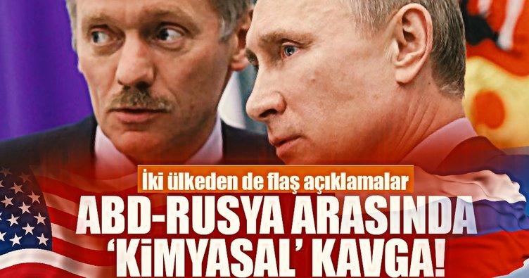 ABD-Rusya arasında kimyasal kavgası!