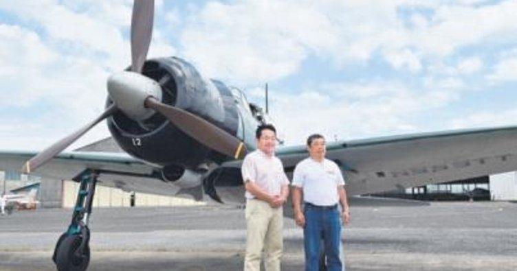 Kamikaze uçağı vatanına döndü
