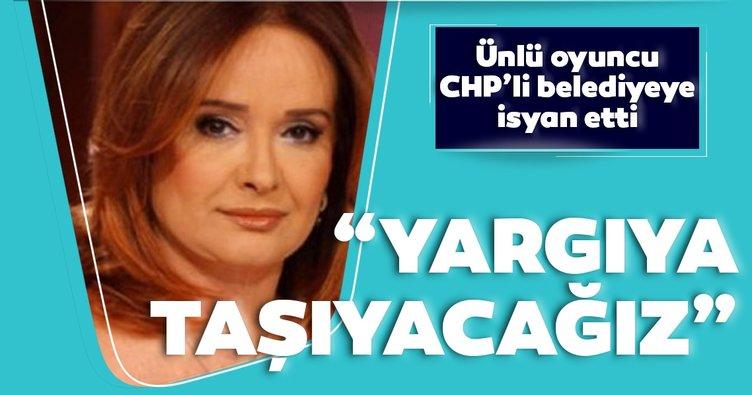 Ünlü oyuncu Müjde Ar CHP'li Bodrum Belediyesi'ne isyan etti: Yargıya taşıyacağız