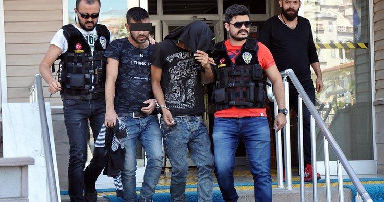Kasten yaralama suçundan 3 kişi tutuklandı