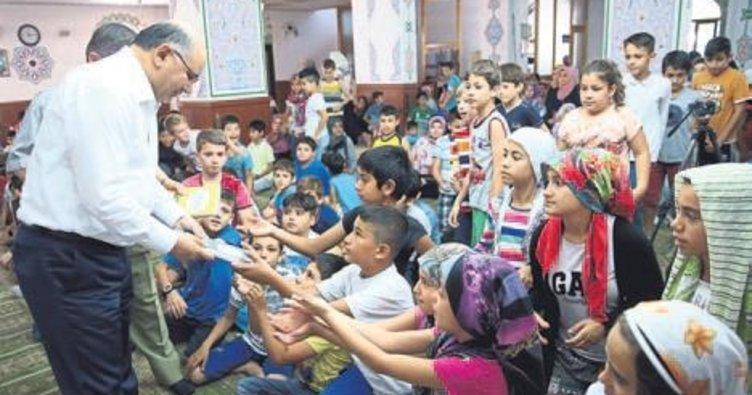 Camiler çocuklarla doldu
