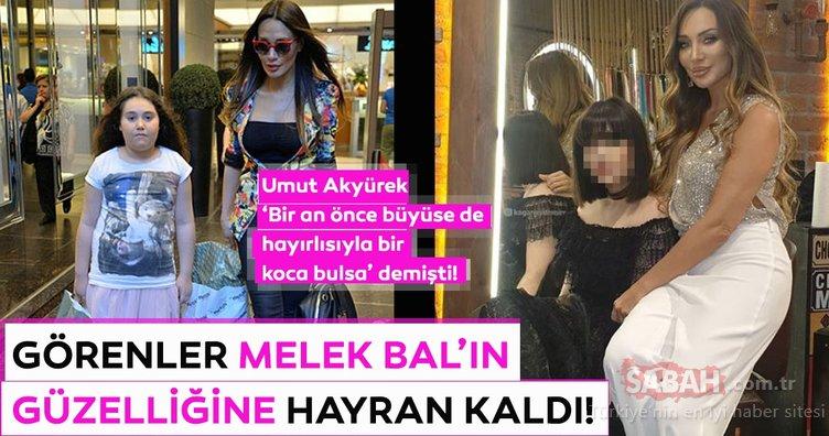 Umut Akyürek'in kızı Melek Bal'ı görenler güzelliğine hayran kaldı!