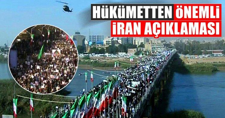 Bekir Bozdağ'dan İran'da yaşanan olaylarla ilgili açıklama