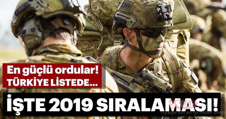 Dünyanın en güçlü orduları 2019 sıralaması