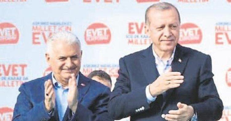 Erdoğan ve Yıldırım İzmir'e geliyor