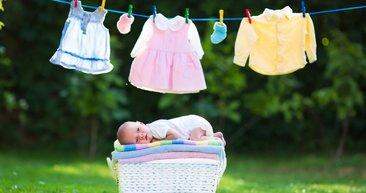 Bebek kıyafetleri yıkarken dikkat edilmesi gerekenler!