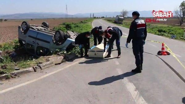 SON DAKİKA: İzmir'de feci kaza: 3 ölü, 4 yaralı! Olay yerinden ilk görüntüler...