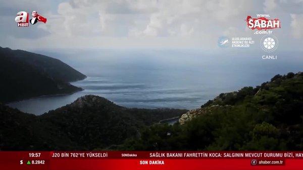 İletişim Başkanlığı'ndan sualtında ışıklı Cumhuriyet Bayramı gösterisi | Video