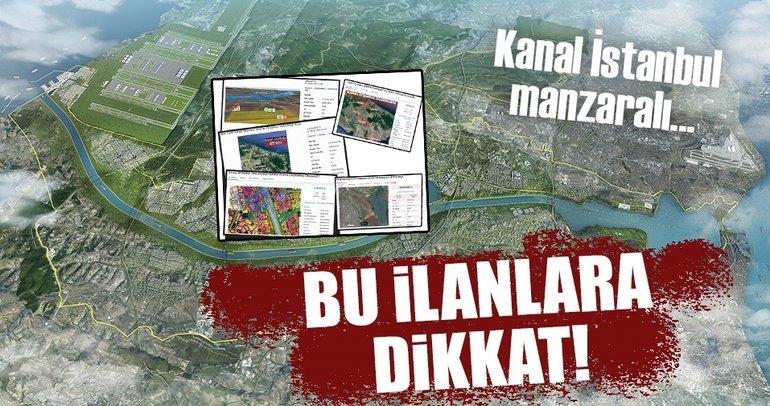Kanal İstanbul dolandırıcılarına dikkat!