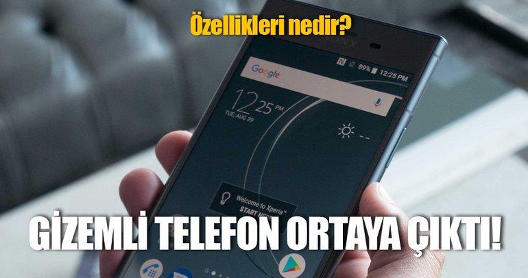Sony'nin gizemli üst düzey telefonu ortaya çıktı!