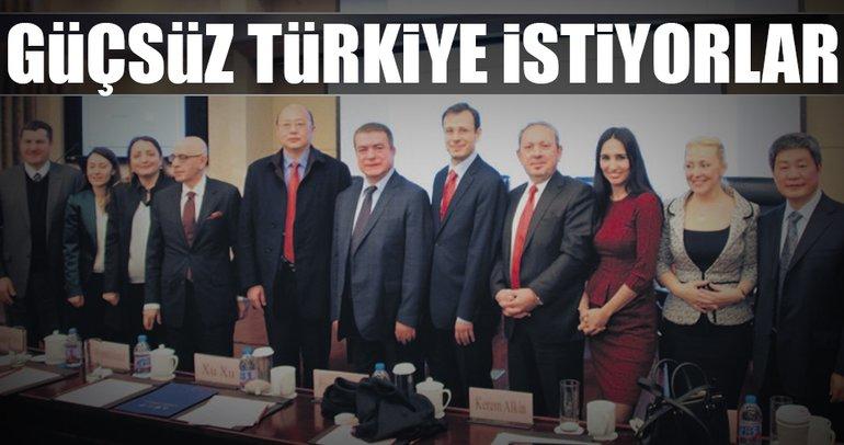 Güçsüz Türkiye istiyorlar